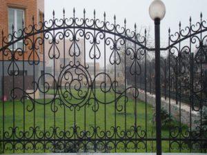 Кованый забор 9