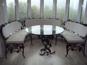 Кованая мебель 13
