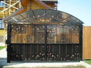 Кованые ворота 14