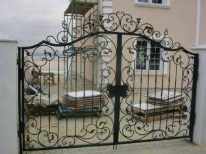 Кованые ворота 2