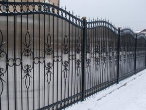 Кованый забор 13