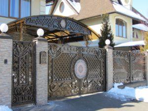 Кованые ворота 5