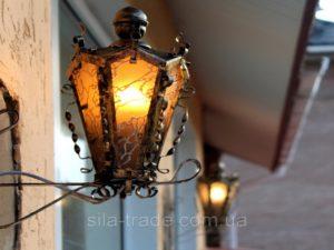 Кованый светильник 10