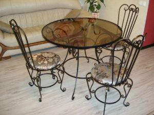 Кованая мебель 1